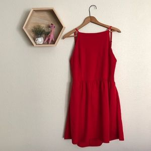 Dresses & Skirts - Red backless dress NWT